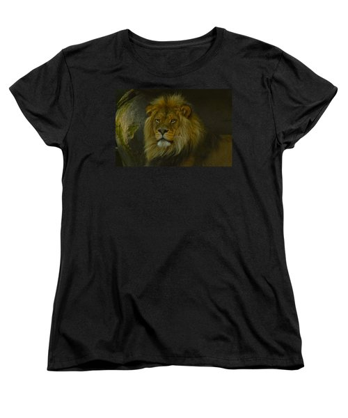 Pride Land Women's T-Shirt (Standard Cut) by Laddie Halupa