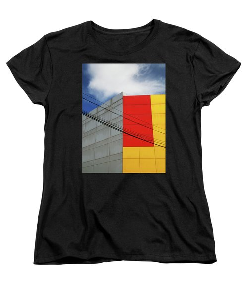 Women's T-Shirt (Standard Cut) featuring the photograph Primarily 1 by Skip Hunt