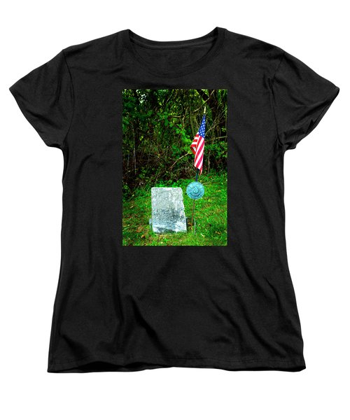 Women's T-Shirt (Standard Cut) featuring the photograph Princess White Feather by Paul W Faust - Impressions of Light
