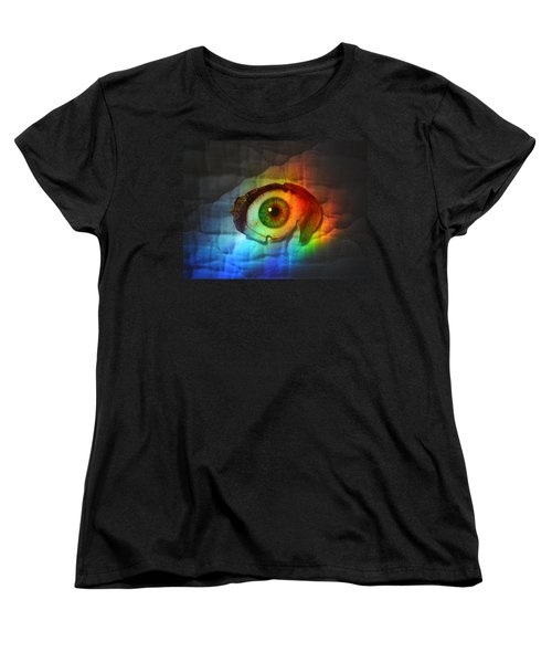 Women's T-Shirt (Standard Cut) featuring the photograph Prismaeye by Douglas Fromm
