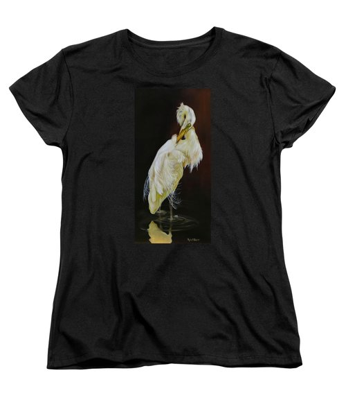 Women's T-Shirt (Standard Cut) featuring the painting Prudence by Phyllis Beiser