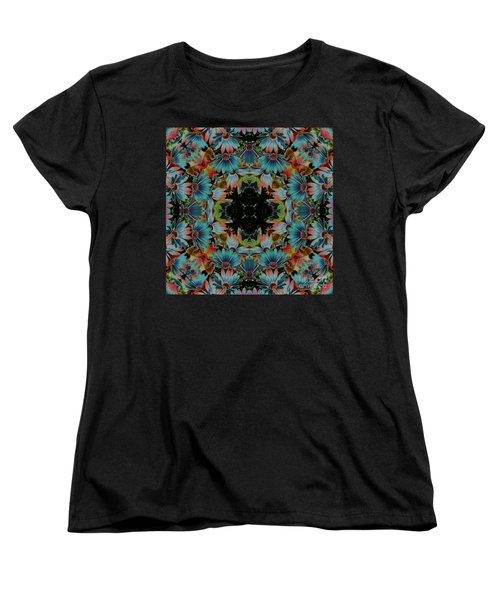 Psychedelic Daisies Women's T-Shirt (Standard Cut) by Smilin Eyes  Treasures