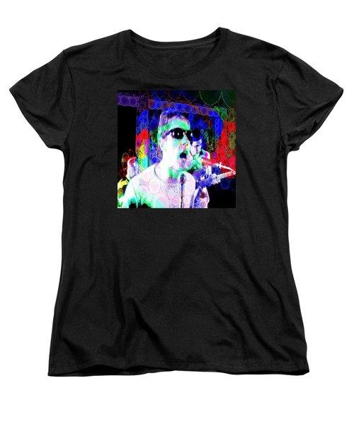 Psychedelic Who Women's T-Shirt (Standard Cut)