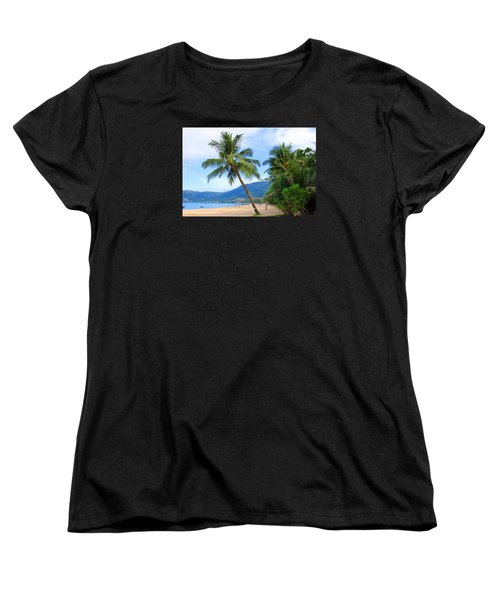 Phuket Patong Beach Women's T-Shirt (Standard Cut) by Mark Ashkenazi