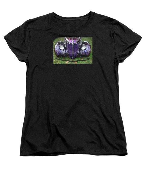 Purple Antique Ford Women's T-Shirt (Standard Cut) by Kathy M Krause