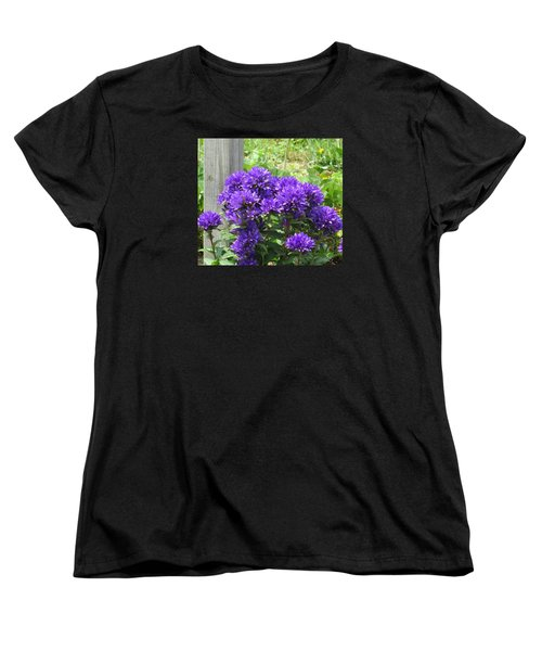 Purple In The Forest Women's T-Shirt (Standard Cut) by Jeanette Oberholtzer