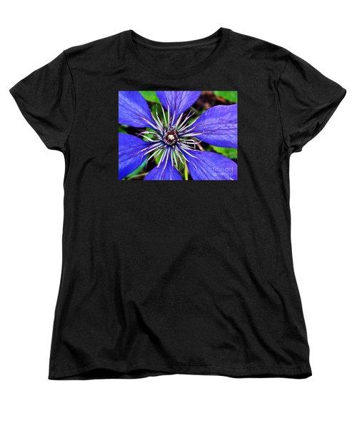 Purple Passion Women's T-Shirt (Standard Cut) by Christy Ricafrente