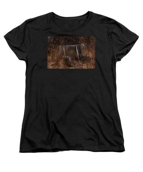 Putting Down Roots Women's T-Shirt (Standard Cut) by Susan Capuano