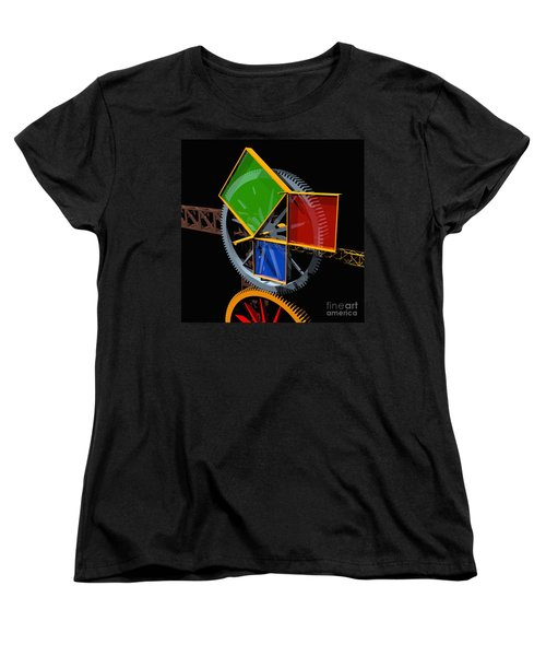 Pythagorean Machine Women's T-Shirt (Standard Cut) by Russell Kightley
