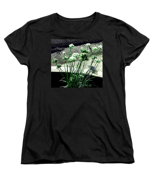 Women's T-Shirt (Standard Cut) featuring the photograph Queen Anne's Lace by Lenore Senior