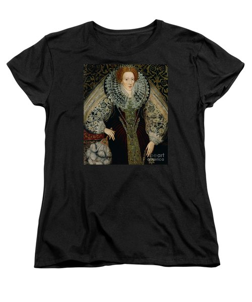 Queen Elizabeth I Women's T-Shirt (Standard Cut) by John the Younger Bettes