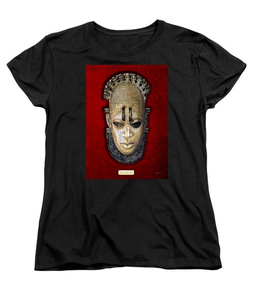 Queen Mother Idia - Ivory Hip Pendant Women's T-Shirt (Standard Cut) by Serge Averbukh