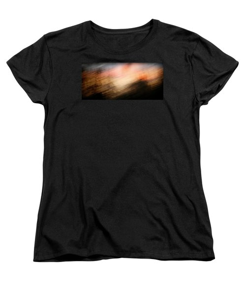 Women's T-Shirt (Standard Cut) featuring the photograph Race You To The Top by Marilyn Hunt