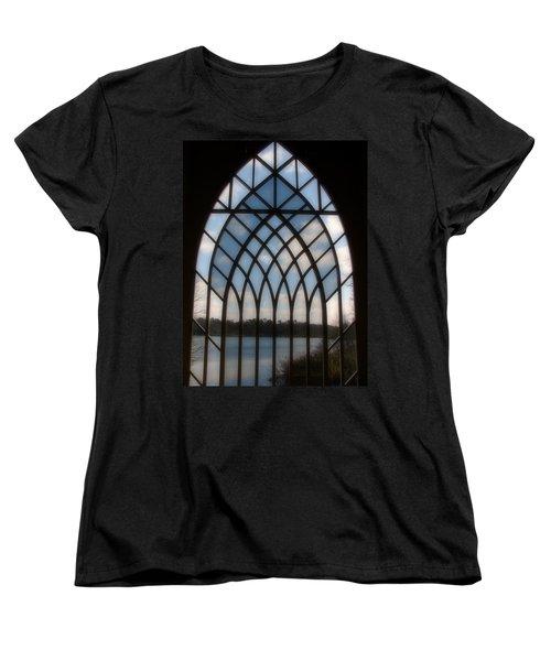 Radiant Women's T-Shirt (Standard Cut) by Priscilla Richardson