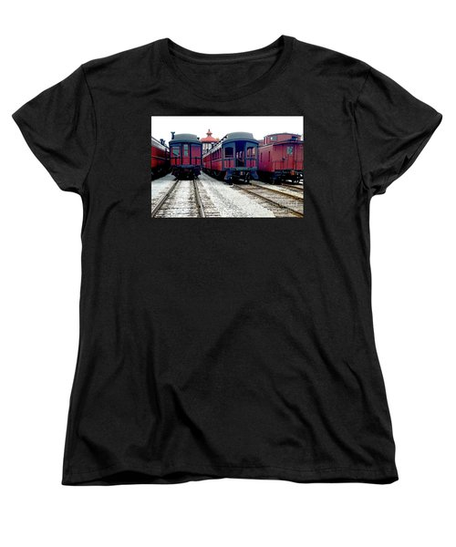 Women's T-Shirt (Standard Cut) featuring the photograph Rail Stock by Paul W Faust - Impressions of Light
