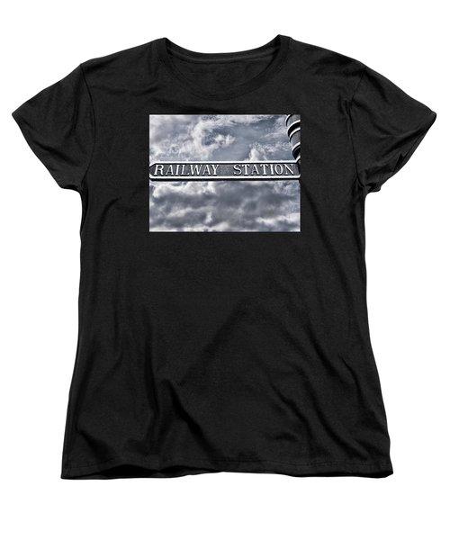 Railway Station Women's T-Shirt (Standard Cut)