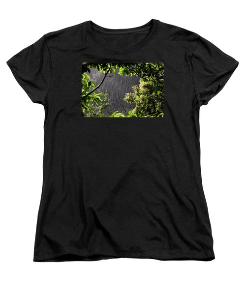 Women's T-Shirt (Standard Cut) featuring the photograph Rain by Bruno Spagnolo