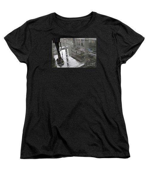 Rainy Morning In Mainz Women's T-Shirt (Standard Cut) by Sarah Loft