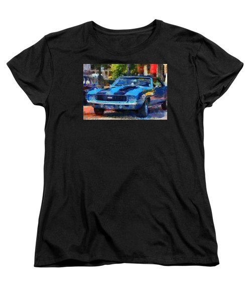 Rally Sport Women's T-Shirt (Standard Cut) by Lynne Jenkins