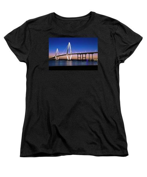 Ravenel Bridge 2 Women's T-Shirt (Standard Cut) by Bill Barber