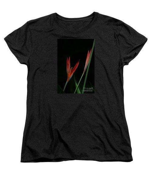 Reaching Women's T-Shirt (Standard Cut) by Pamela Blizzard