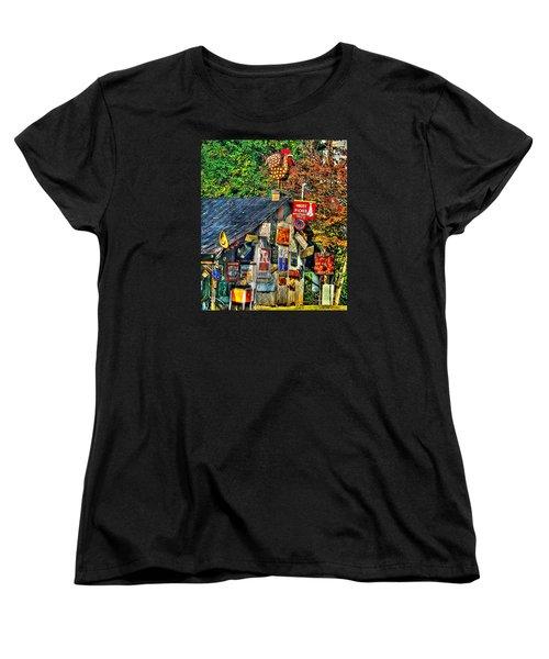 Read The Signs Women's T-Shirt (Standard Cut) by Christy Ricafrente