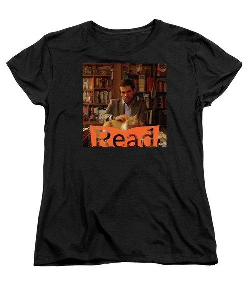 Read  National Readathon Women's T-Shirt (Standard Cut) by David Cardona