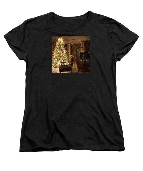Ready For Christmas Women's T-Shirt (Standard Cut) by Cathy Jourdan