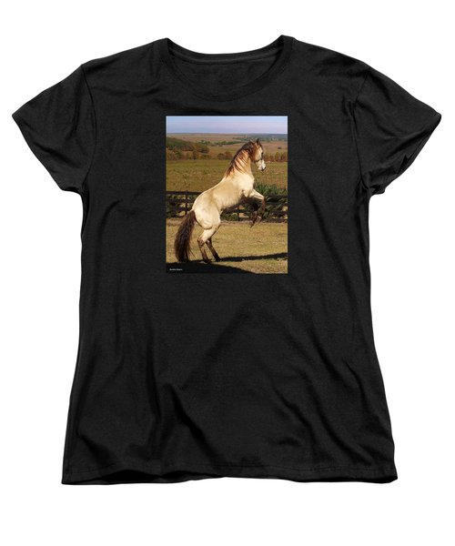 Women's T-Shirt (Standard Cut) featuring the photograph Wild At Heart by Barbie Batson