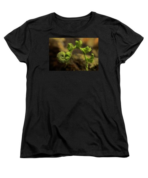 Women's T-Shirt (Standard Cut) featuring the photograph Rebirth by Mike Eingle