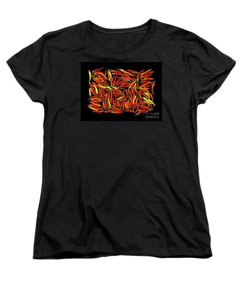 Red Hots Women's T-Shirt (Standard Cut) by Christian Slanec