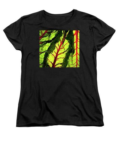Women's T-Shirt (Standard Cut) featuring the photograph Red River by Bobby Villapando