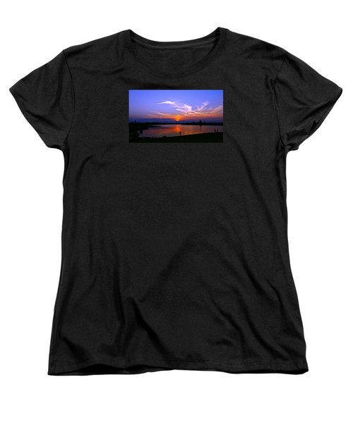 Women's T-Shirt (Standard Cut) featuring the photograph Red, White And Blue by Eric Dee