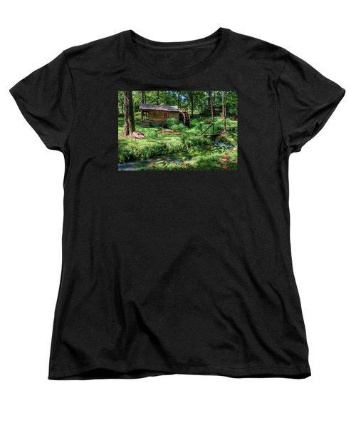 Reed's Mill Women's T-Shirt (Standard Cut) by John Gilbert