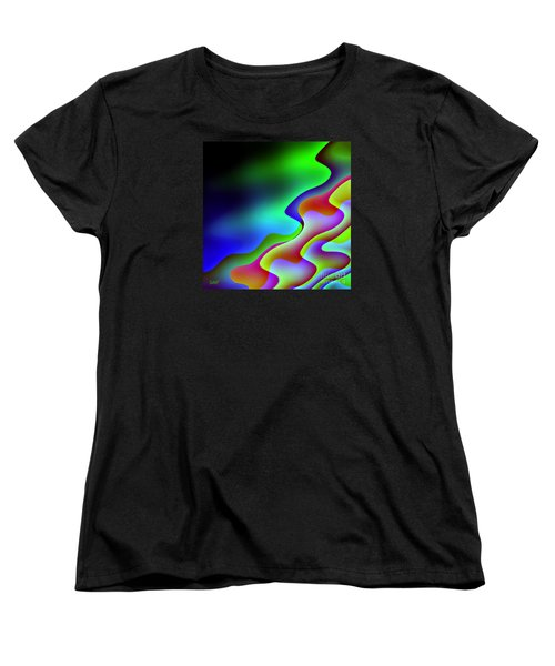 Women's T-Shirt (Standard Cut) featuring the digital art Reflection In The Water by Dragica  Micki Fortuna