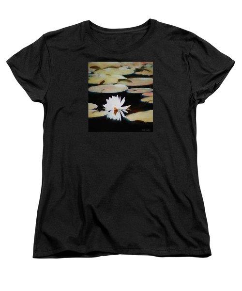 Reflection Pond Women's T-Shirt (Standard Cut) by Debra     Vatalaro