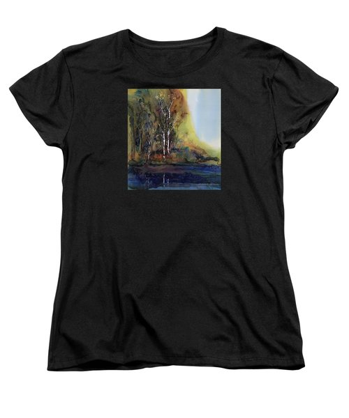 Reflections Women's T-Shirt (Standard Cut) by Carolyn Doe