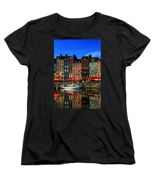 Reflections Honfleur France Women's T-Shirt (Standard Cut)