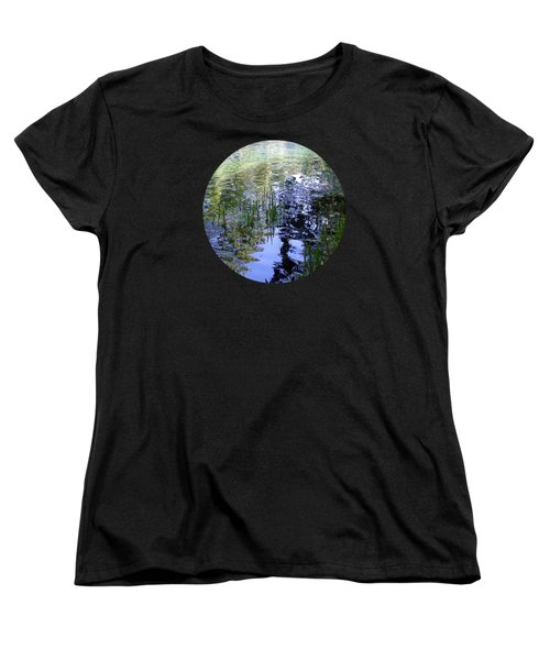Women's T-Shirt (Standard Cut) featuring the photograph Reflections  by Mary Wolf