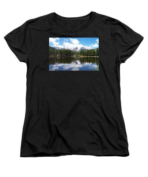 Reflections Of Sprague Lake Women's T-Shirt (Standard Cut) by Dorrene BrownButterfield