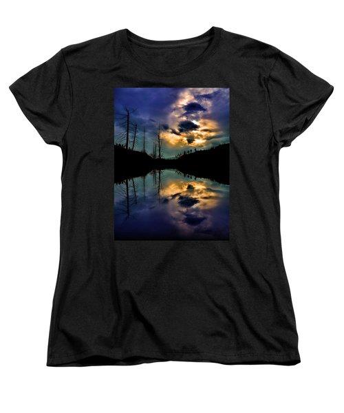 Women's T-Shirt (Standard Cut) featuring the photograph Reflections by Tara Turner