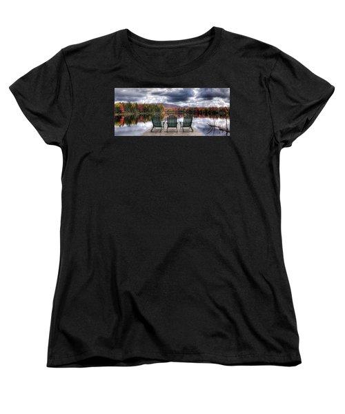 Relishing Autumn Women's T-Shirt (Standard Cut) by David Patterson