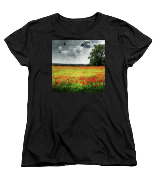Remember #rememberanceday #remember Women's T-Shirt (Standard Cut) by John Edwards