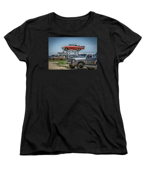 Reserved Parking Women's T-Shirt (Standard Cut) by Ray Congrove