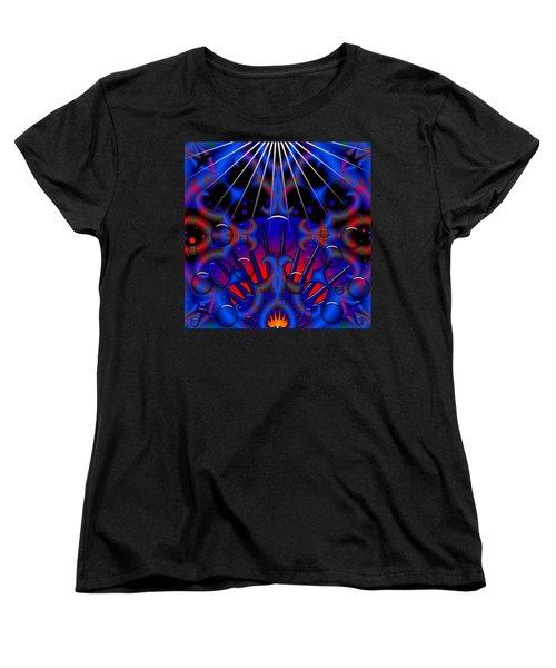Women's T-Shirt (Standard Cut) featuring the digital art Resist by Robert Orinski
