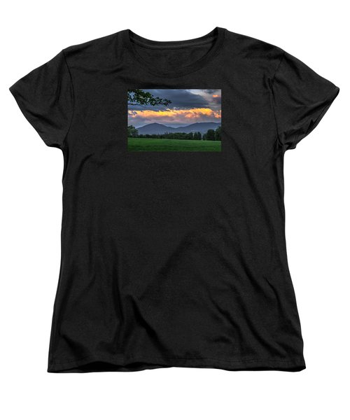 Reverse Sunset Women's T-Shirt (Standard Cut) by Tim Kirchoff
