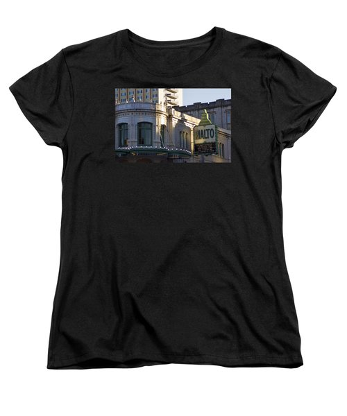 Rialto Tacoma Women's T-Shirt (Standard Cut) by Cathy Anderson