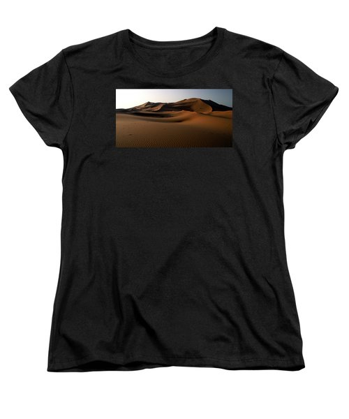 Ripples In The Sand Women's T-Shirt (Standard Cut) by Ralph A  Ledergerber-Photography