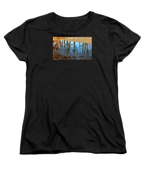 Women's T-Shirt (Standard Cut) featuring the photograph Ripples by Spyder Webb
