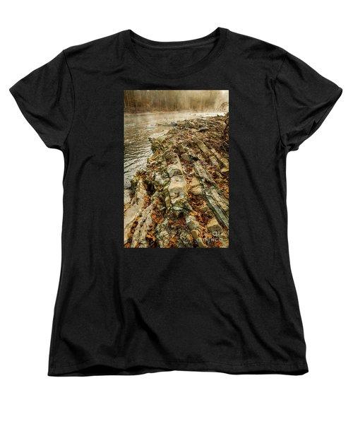 Women's T-Shirt (Standard Cut) featuring the photograph River Bank by Iris Greenwell